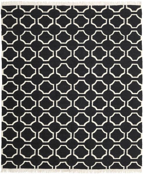 London - Czarny/Kość Słoniowa Dywan 250X300 Nowoczesny Tkany Ręcznie Czarny Duży (Wełna, Indie)