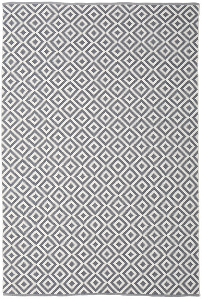 Torun - Szary/Neutral Dywan 200X300 Nowoczesny Tkany Ręcznie Jasnoszary/Ciemnoszary/Beżowy (Bawełna, Indie)
