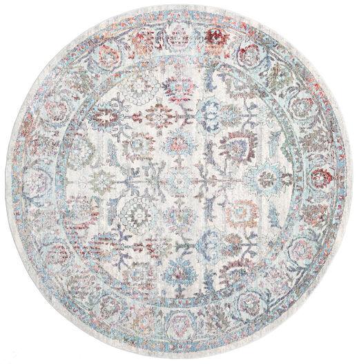Granada - Multi Dywan Ø 150 Nowoczesny Okrągły Jasnoszary/Ciemnobeżowy ( Turcja)