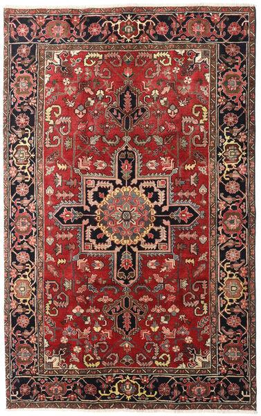 Heriz Dywan 175X280 Orientalny Tkany Ręcznie Ciemnoczerwony/Rdzawy/Czerwony (Wełna, Persja/Iran)