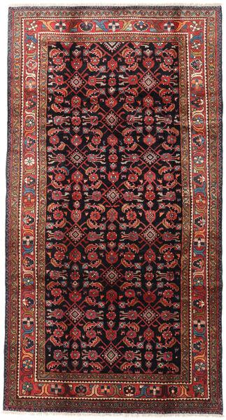 Lillian Dywan 165X317 Orientalny Tkany Ręcznie Ciemnoczerwony/Czarny (Wełna, Persja/Iran)