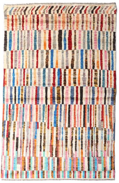 Moroccan Berber - Afghanistan Dywan 117X181 Nowoczesny Tkany Ręcznie Beżowy/Jasnoróżowy (Wełna, Afganistan)