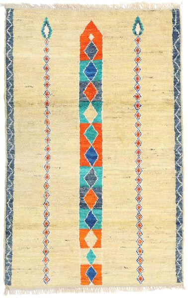 Moroccan Berber - Afghanistan Dywan 113X182 Nowoczesny Tkany Ręcznie Ciemnobeżowy/Beżowy (Wełna, Afganistan)