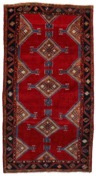 Koliai Dywan 160X303 Orientalny Tkany Ręcznie Chodnik Ciemnoczerwony/Czerwony (Wełna, Persja/Iran)