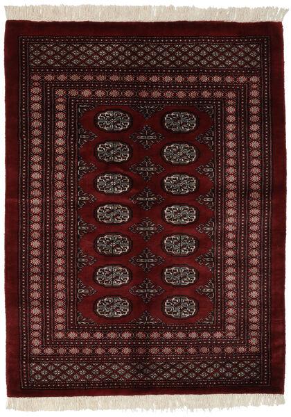 Pakistański Bucharski 3Ply Dywan 128X171 Orientalny Tkany Ręcznie Czarny (Wełna, Pakistan)