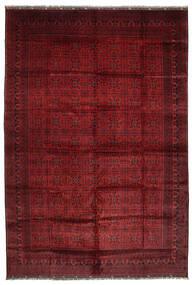 Afgan Khal Mohammadi Dywan 406X582 Orientalny Tkany Ręcznie Ciemnoczerwony Duży (Wełna, Afganistan)