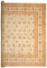 Ziegler Dywan 575X842 Orientalny Tkany Ręcznie Beżowy/Ciemnobeżowy Duży (Wełna, Pakistan)