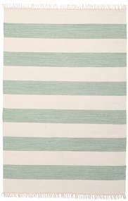 Cotton Stripe - Mint Dywan 140X200 Nowoczesny Tkany Ręcznie Beżowy/Pastel Zielony (Bawełna, Indie)