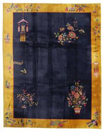 Chińskie Antyk: Art Deco 1920 Dywan 280X355 Orientalny Tkany Ręcznie Czarny/Ciemnoszary Duży (Wełna, Chiny)