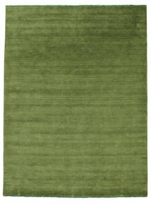 Handloom Fringes - Zielony Dywan 250X300 Nowoczesny Zielony/Oliwkowy Duży (Wełna, Indie)
