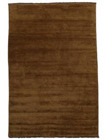 Handloom Fringes - Brunatny Dywan 200X300 Nowoczesny Brązowy (Wełna, Indie)