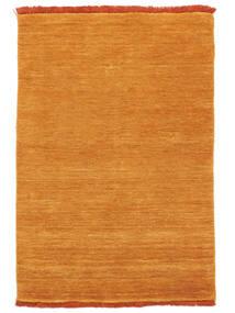 Handloom Fringes - Pomarańczowy Dywan 200X300 Nowoczesny Żółty/Jasnobrązowy (Wełna, Indie)