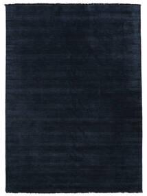 Handloom Fringes - Ciemnoniebieski Dywan 200X300 Nowoczesny Ciemnoniebieski/Niebieski (Wełna, Indie)
