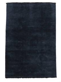 Handloom Fringes - Ciemnoniebieski Dywan 160X230 Nowoczesny Ciemnoniebieski (Wełna, Indie)