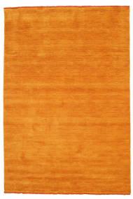 Handloom Fringes - Pomarańczowy Dywan 160X230 Nowoczesny Pomarańczowy/Jasnobrązowy (Wełna, Indie)
