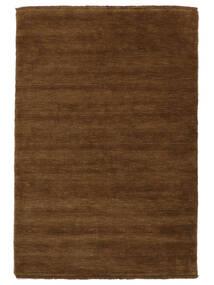 Handloom Fringes - Brunatny Dywan 160X230 Nowoczesny Brązowy (Wełna, Indie)