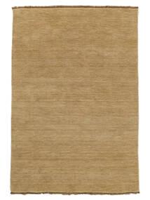 Handloom Fringes - Beżowy Dywan 160X230 Nowoczesny Ciemnobeżowy/Jasnobrązowy (Wełna, Indie)