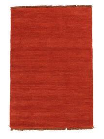 Handloom Fringes - Rdzawy/Czerwony Dywan 140X200 Nowoczesny Rdzawy/Czerwony (Wełna, Indie)