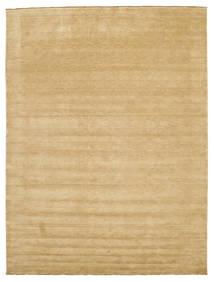 Handloom Fringes - Beżowy Dywan 300X400 Nowoczesny Ciemnobeżowy/Jasnobrązowy Duży (Wełna, Indie)