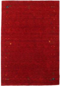 Gabbeh Loom Frame - Czerwony Dywan 140X200 Nowoczesny Ciemnoczerwony/Czerwony (Wełna, Indie)