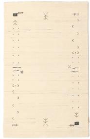 Gabbeh Loom Frame - Kość Słoniowa Dywan 100X160 Nowoczesny Beżowy/Jasnoróżowy (Wełna, Indie)