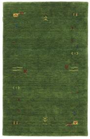 Gabbeh Loom Frame - Zielony Dywan 100X160 Nowoczesny Ciemnozielony/Ciemnozielony (Wełna, Indie)