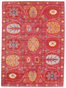 Orion - Różowy Dywan 160X230 Nowoczesny Czerwony/Rdzawy/Czerwony ( Turcja)