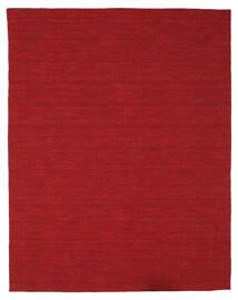 Kilim Loom - Ciemnoczerwony Dywan 200X250 Nowoczesny Tkany Ręcznie Czerwony (Wełna, Indie)