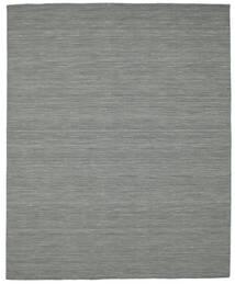 Kilim Loom - Ciemnoszary Dywan 200X250 Nowoczesny Tkany Ręcznie Ciemnoszary/Jasnozielony (Wełna, Indie)