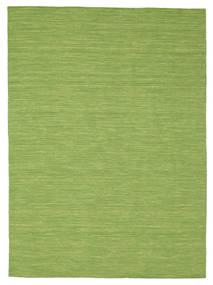 Kilim Loom - Zielony Dywan 160X230 Nowoczesny Tkany Ręcznie Zielony/Oliwkowy (Wełna, Indie)