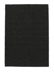 Kilim Loom - Czarny Dywan 120X180 Nowoczesny Tkany Ręcznie Czarny (Wełna, Indie)