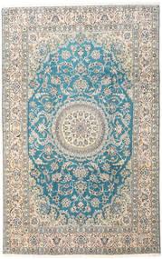 Nain 9La Dywan 197X310 Orientalny Tkany Ręcznie Jasnoszary/Beżowy (Wełna/Jedwab, Persja/Iran)