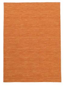 Kilim Loom - Pomarańczowy Dywan 160X230 Nowoczesny Tkany Ręcznie Pomarańczowy (Wełna, Indie)