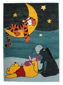 Wish Upon A Tiger Dywan 140X200 Nowoczesny Czarny/Ciemny Turkus ( Turcja)