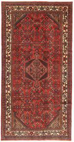 Hamadan Patina Dywan 158X310 Orientalny Tkany Ręcznie Ciemnoczerwony/Rdzawy/Czerwony (Wełna, Persja/Iran)