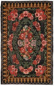 Kilim Moldavia Dywan 200X315 Orientalny Tkany Ręcznie Ciemnoszary/Ciemnoczerwony (Wełna, Mołdawia)