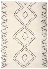 Berber Shaggy Massin Dywan 160X230 Nowoczesny Beżowy/Jasnoszary ( Turcja)