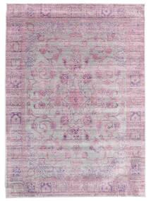 Maharani - Szary/Różowy Dywan 200X300 Nowoczesny Jasnoróżowy/Jasnoszary ( Turcja)