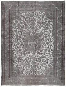 Colored Vintage Dywan 291X380 Nowoczesny Tkany Ręcznie Ciemnoszary/Jasnoszary Duży (Wełna, Persja/Iran)