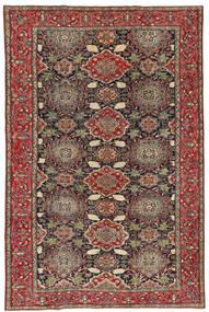 Nadżafabad Patina Dywan 200X307 Orientalny Tkany Ręcznie Ciemnoszary/Ciemnoczerwony (Wełna, Persja/Iran)