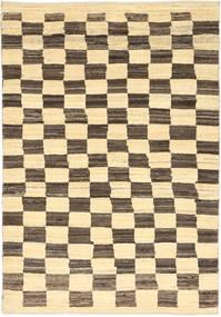 Gabbeh (Persja) Dywan 108X156 Nowoczesny Tkany Ręcznie Ciemnobeżowy/Beżowy (Wełna, Persja/Iran)
