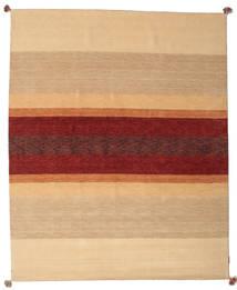 Loribaf Loom Dywan 172X241 Nowoczesny Tkany Ręcznie Ciemnobeżowy/Ciemnoczerwony (Wełna, Indie)