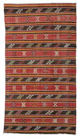 Kilim Pół -Antyk Tureckie Dywan 176X315 Orientalny Tkany Ręcznie Rdzawy/Czerwony/Ciemnoczerwony (Wełna, Turcja)