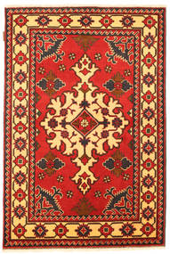 Kazak Dywan 102X157 Orientalny Tkany Ręcznie Rdzawy/Czerwony/Ciemnobrązowy (Wełna, Pakistan)