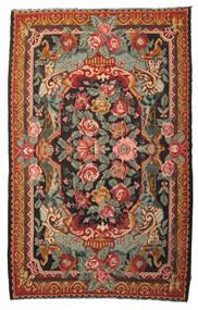 Kilim Rose Moldavia Dywan 215X345 Orientalny Tkany Ręcznie Czerwony/Zielony/Oliwkowy (Wełna, Mołdawia)
