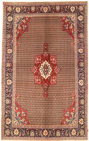 Koliai Dywan 198X323 Orientalny Tkany Ręcznie Ciemnobrązowy/Ciemnoczerwony (Wełna, Persja/Iran)