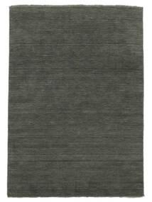 Handloom Fringes - Ciemnoszary Dywan 250X350 Nowoczesny Ciemnoszary Duży (Wełna, Indie)