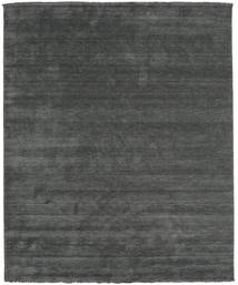 Handloom Fringes - Ciemnoszary Dywan 250X300 Nowoczesny Ciemnozielony/Ciemnozielony Duży (Wełna, Indie)
