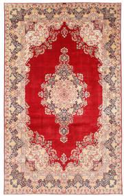 Kerman Dywan 377X620 Orientalny Tkany Ręcznie Rdzawy/Czerwony/Beżowy Duży (Wełna, Persja/Iran)