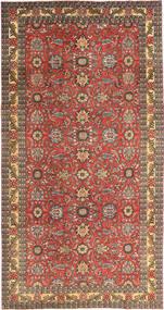Tebriz Patina Dywan 168X318 Orientalny Tkany Ręcznie Ciemnoczerwony/Jasnobrązowy (Wełna, Persja/Iran)